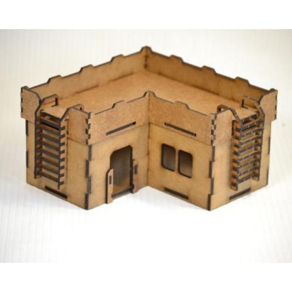 Здание малое угловое (170х170х100 мм)